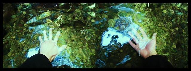 セラピストの手|七珍宝の滝